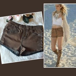 Free People | Lone Ranger Lace Up Shorts